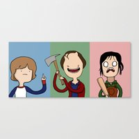 Adventure Time with The Shinning Canvas Print
