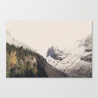 Winter Mountain Morning Canvas Print