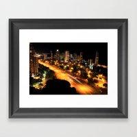 Gold Coast Highway Framed Art Print