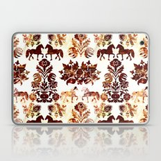 horse damask Laptop & iPad Skin
