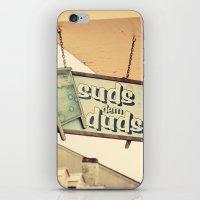 Suds dem Duds iPhone & iPod Skin