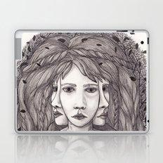 Fox Tail Sisters Laptop & iPad Skin