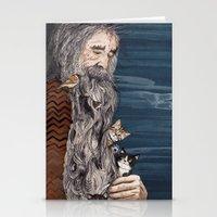 Beardnest Stationery Cards