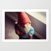 My Gnomie Art Print