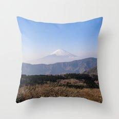 Fujisan Throw Pillow
