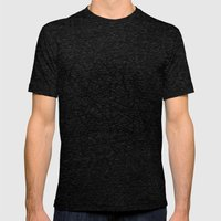 Shapes 014 Mens Fitted Tee Tri-Black SMALL