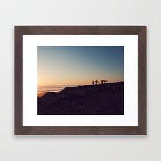 california boys Framed Art Print
