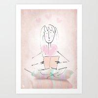 Reader Art Print