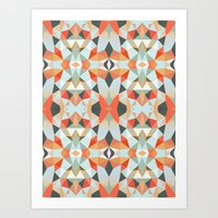 Island Tribal Art Print