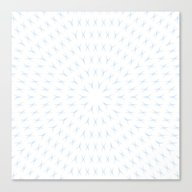 PCT2 Fractal In Ice Blue… Canvas Print