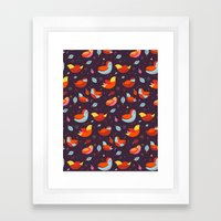 Pajaritos Framed Art Print
