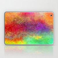 aa 2 colourful digital abstract Laptop & iPad Skin