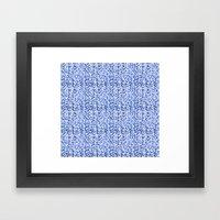 Blue World Framed Art Print