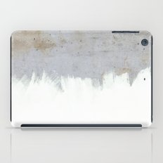 Painting on Raw Concrete iPad Case