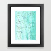 Abstract 173 Framed Art Print