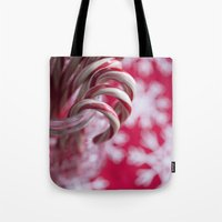 Candy Cane Christmas  Tote Bag