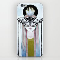 moth queen iPhone & iPod Skin