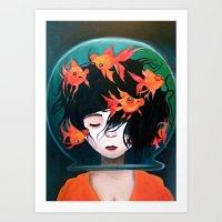 Mistaken Identity (Ken W… Art Print