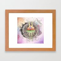 Master of Dimensions Framed Art Print
