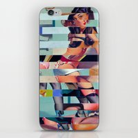 Glitch Pin-Up: Randi iPhone & iPod Skin