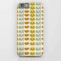 iPhone & iPod Case featuring Cat Trio by Lemon