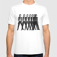 Octo Harrison  Mens Fitted Tee White SMALL