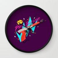 Pixel Blaster Wall Clock