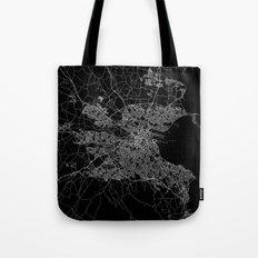 Dublin map Tote Bag