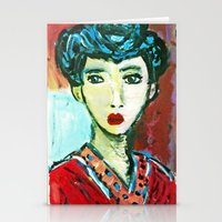 LADY MATISSE IN TEEN YEA… Stationery Cards