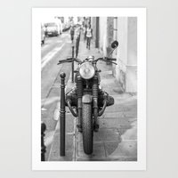 Paris Bike Art Print