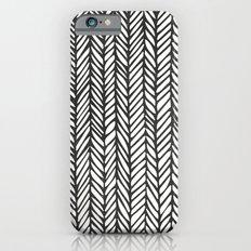Black Threads Slim Case iPhone 6s