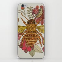 Bee awesome iPhone & iPod Skin