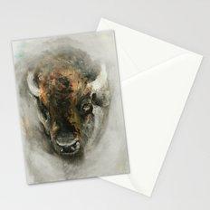 Plains Bison Stationery Cards