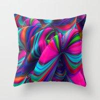 Abstract Pop Throw Pillow