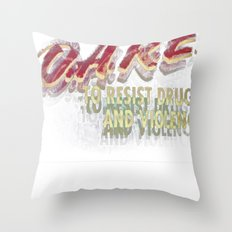 DARE (DOUBLE VISION) Throw Pillow