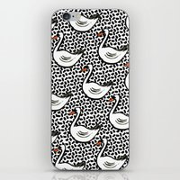Graphic Swan iPhone & iPod Skin