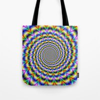 Psychedelic Swirl Tote Bag