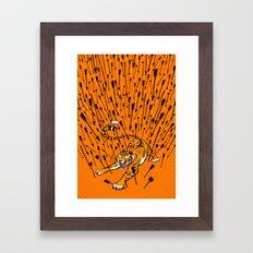 T-Minus... Framed Art Print