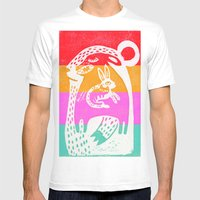 Big Bear Mens Fitted Tee White SMALL
