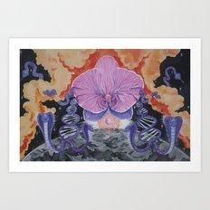 The Cosmic Serpent Art Print