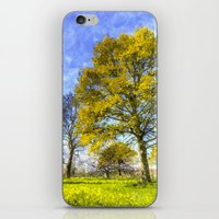 English Summer Farm Art iPhone & iPod Skin
