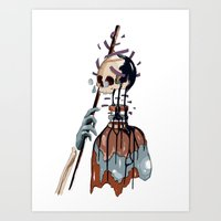 native Art Prints featuring Native  by PAFF