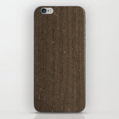 Wenge Wood iPhone & iPod Skin