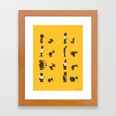 Please Pick Up After Your Pets Framed Art Print