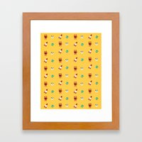 ChuChu Rocketto Framed Art Print