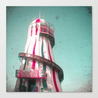 Helter Skelter Canvas Print