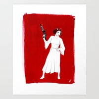 Rebel Girl Art Print