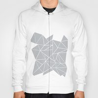 Abstract Mountain Grey Hoody