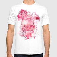 Mr Bunny Mens Fitted Tee White SMALL