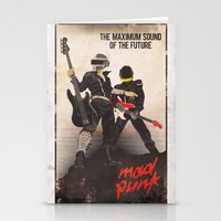 Mad Punk / A tribute to Daft Punk Stationery Cards